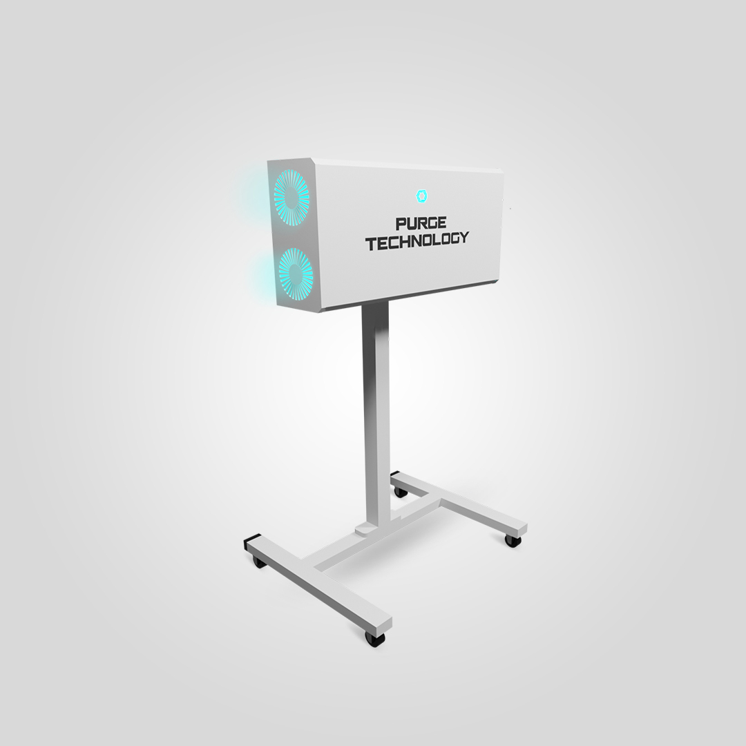Рециркулятор Purge Technology 006 Даблпром (Белый, Черный)