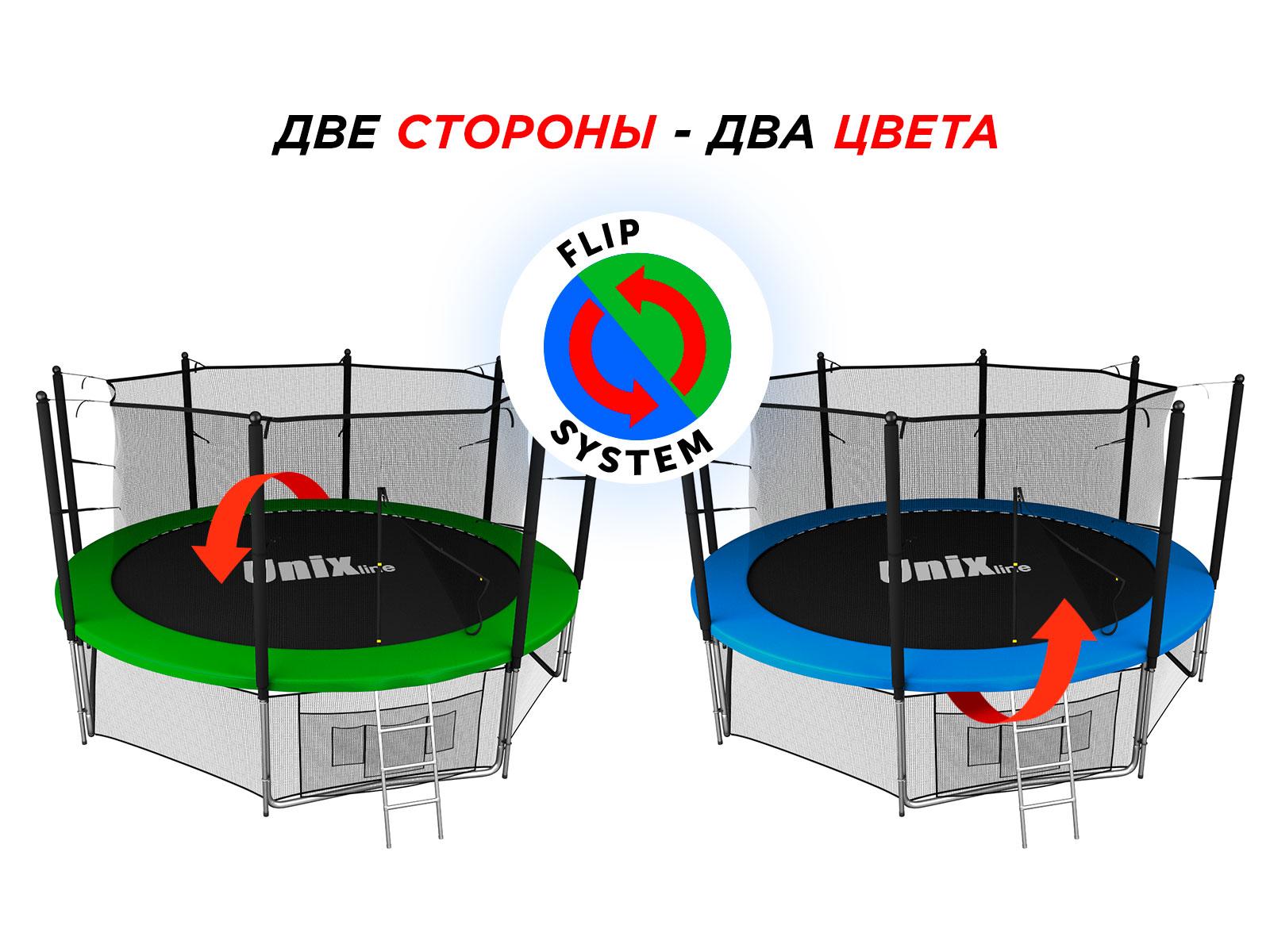 Батут UNIX line Classic 14 ft (inside)