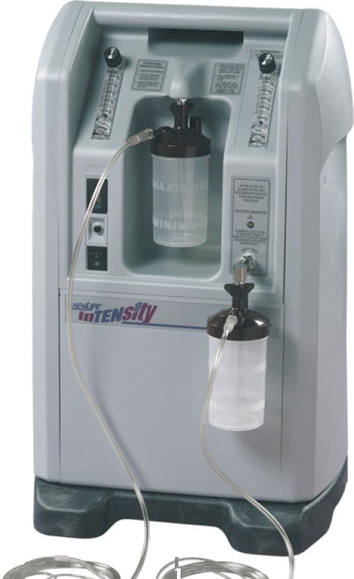 Терапевтический кислородный концентратор AirSep НьюЛайф Интенсити 10 (Дьюал)
