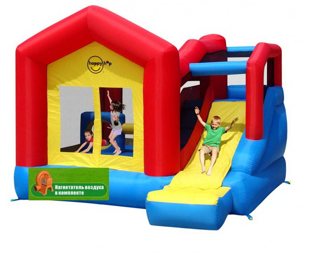 Детский надувной Игровой Центр Прыг-Скок HAPPY HOP 9064N