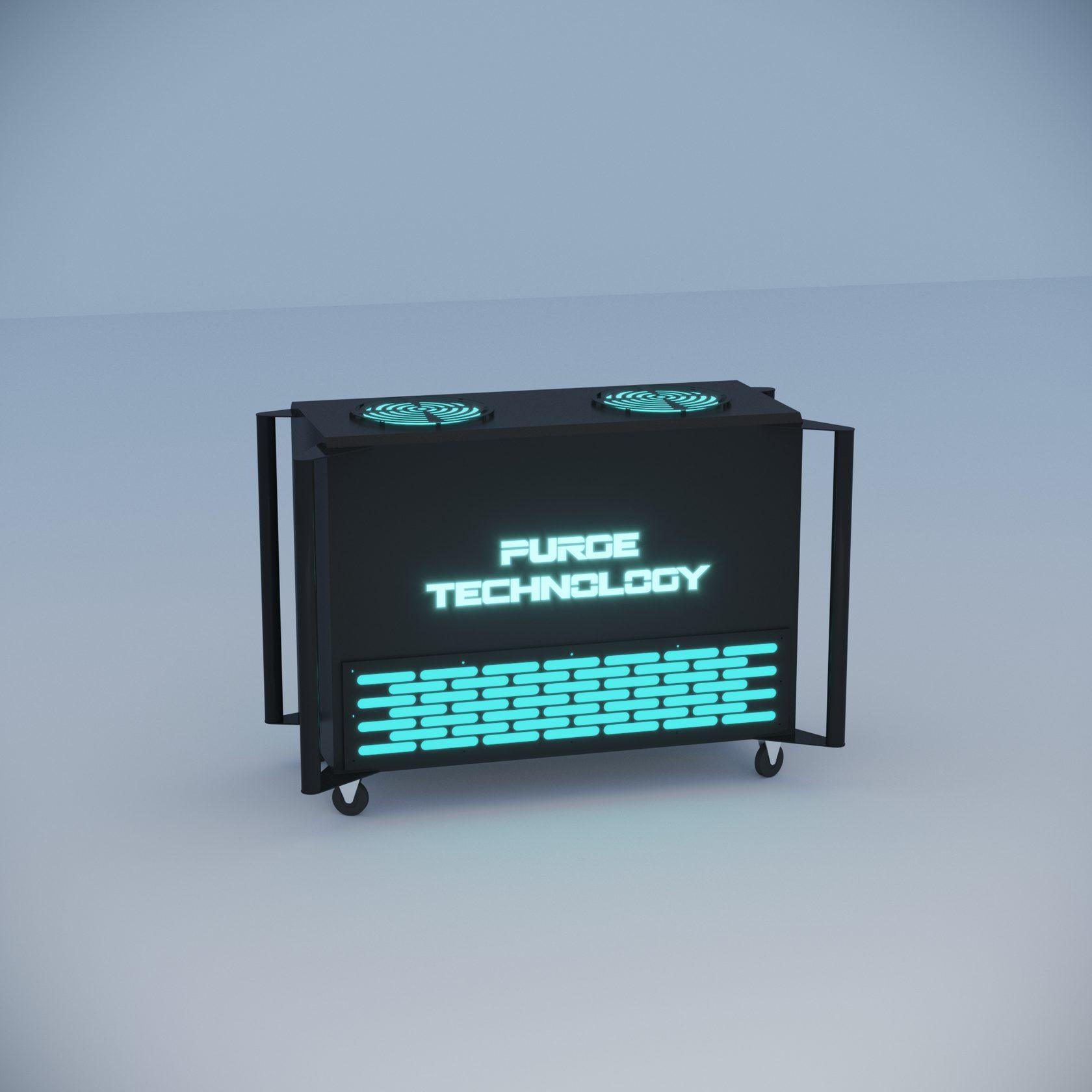 Промышленный рециркулятор PТ-014 Шторм (Белый, Черный)