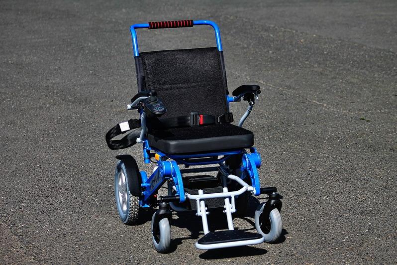 Инвалидная электроколяска ПОНИ ширина 38 см