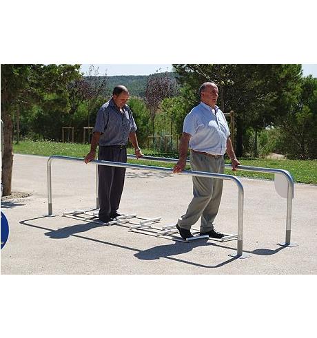 Тренажер для пожилых Брусья с препятствиями УТИп-062