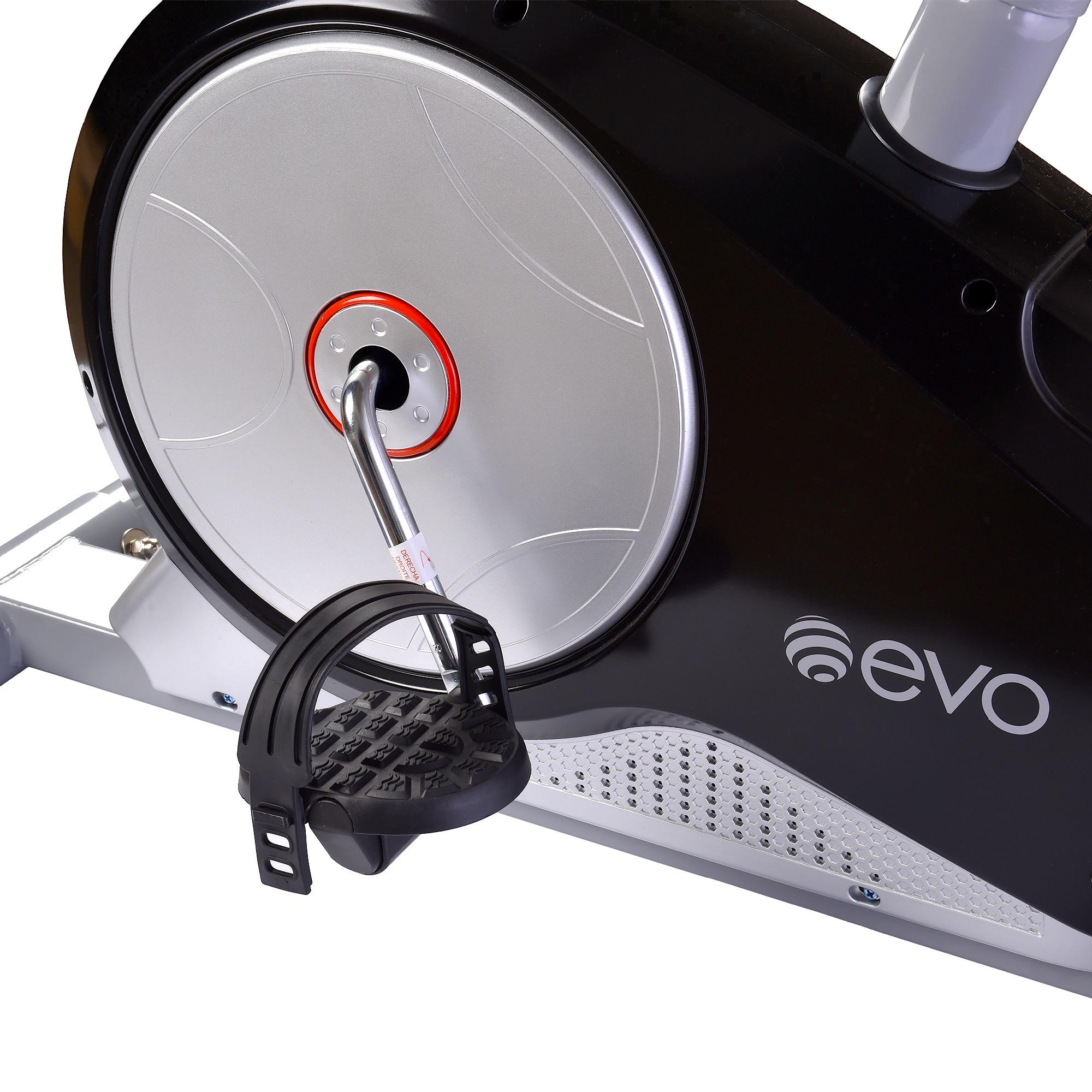 Велотренажер EVO FITNESS Crystal EL электромагнитный