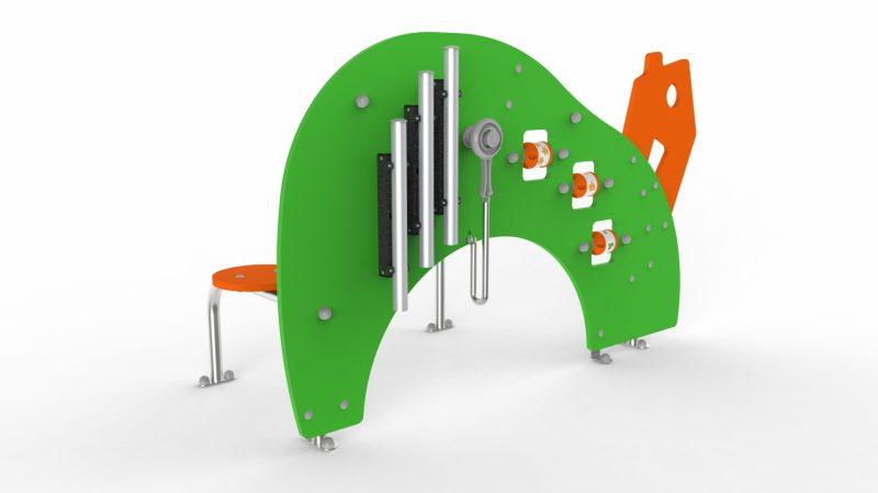 Игровой элемент Домик для развития тактильных навыков