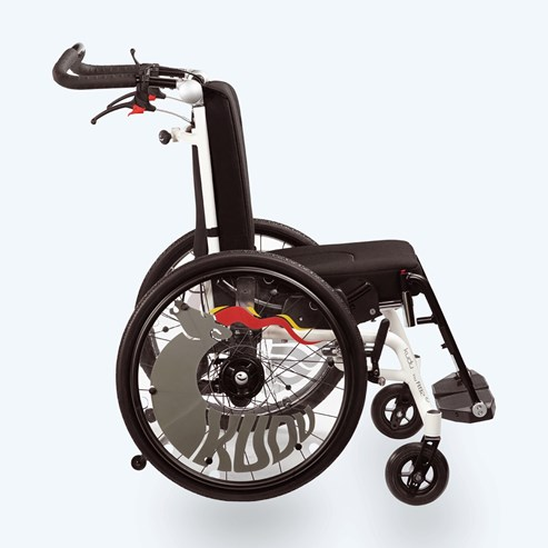 Детская активная инвалидная кресло-коляска R82 Kudu