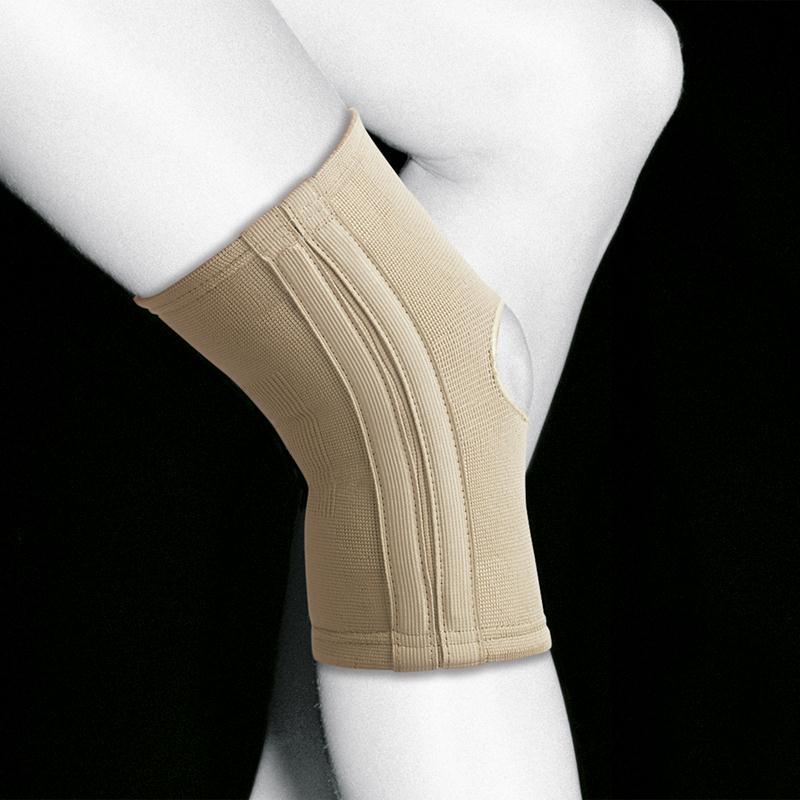 Эластичный коленный бандаж с гибкими шинами Orliman TN-211