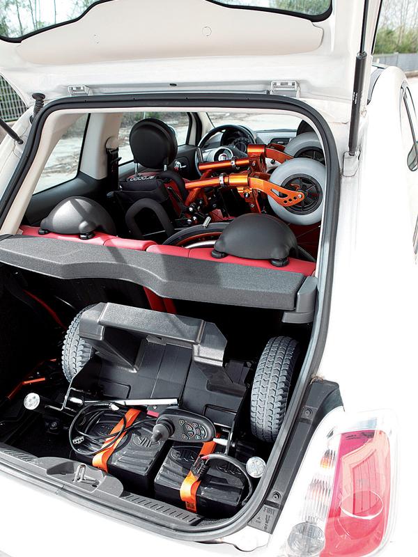 Электрическая инвалидная коляска Progeo Variotronic