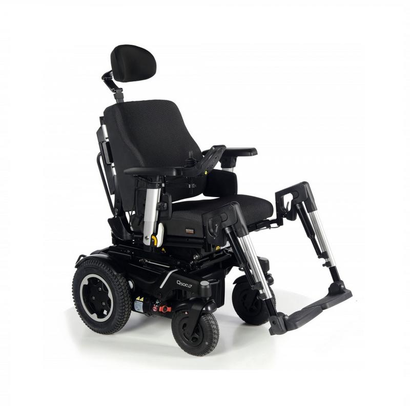 Кресло-коляска с электроприводом QUICKIE Sunrise Q500 R SEDEO PRO