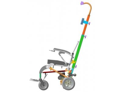 ЛАМА кресло-коляска с интегрированным лестничным подъёмником