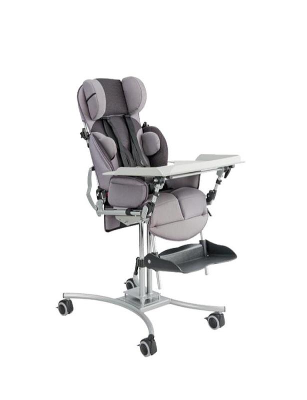 Кресло-коляска инвалидная для детей с ДЦП HOGGI BINGO на домашней раме