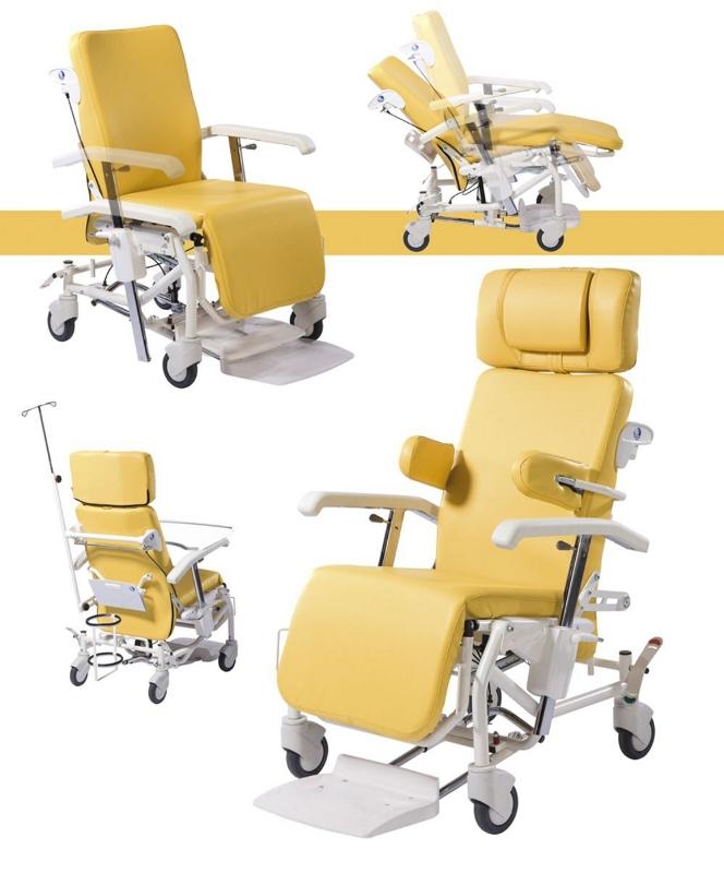 Кресло-коляска с множеством функций на колесах Vermeiren Alesia