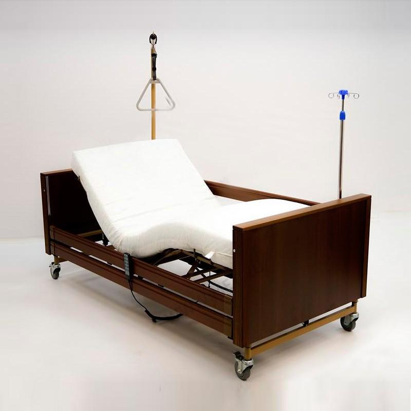 Кровать электрическая медицинская MET Terna (цвет Венге)