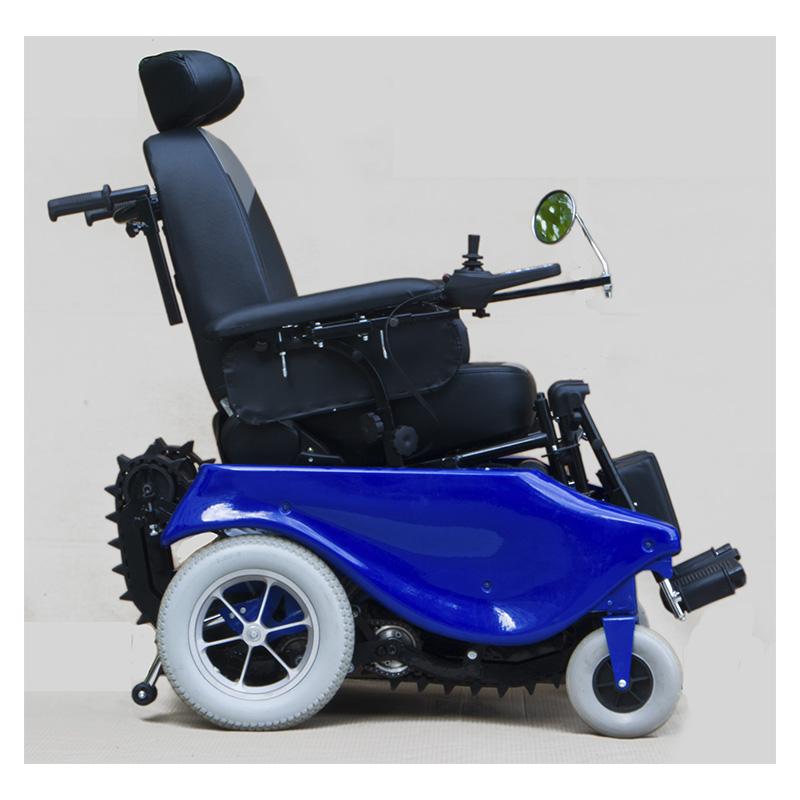 Инвалидная кресло-коляска для перемещения по горизонтальной поверхности, лестницам и бордюрам CATERWIL GTS