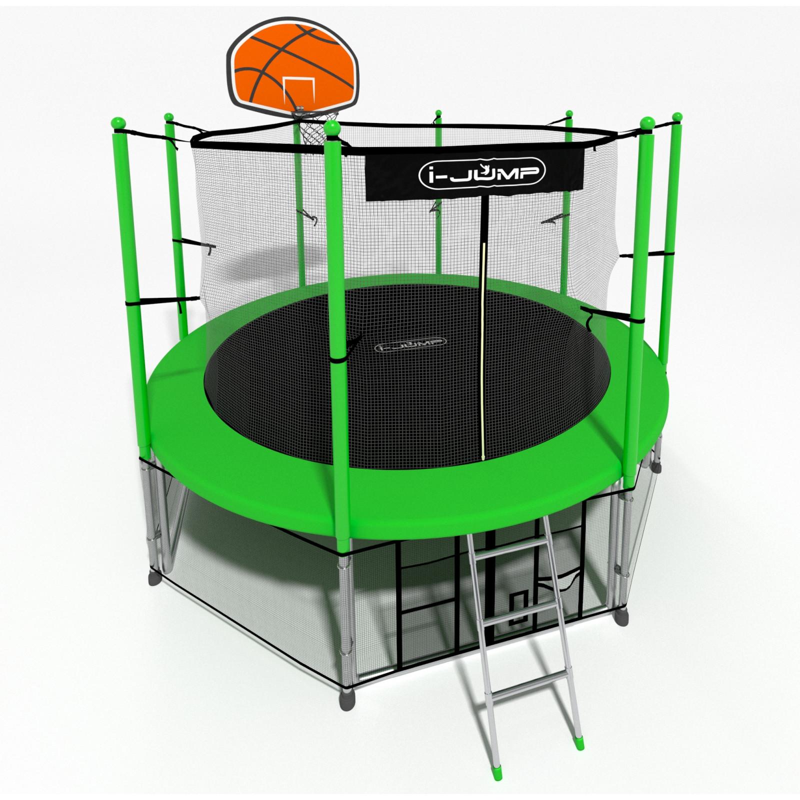Батут I-Jump Basket 16FT Green