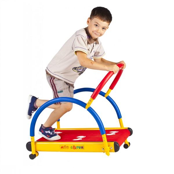 Детская беговая дорожка с компьютером