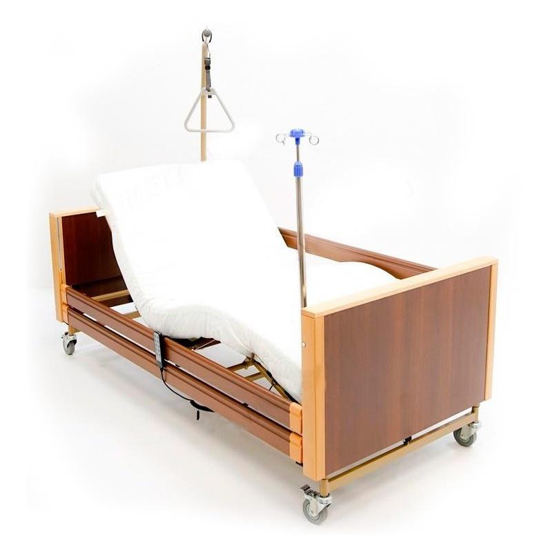 Кровать электрическая медицинская MET Terna (цвет Бук+Венге)