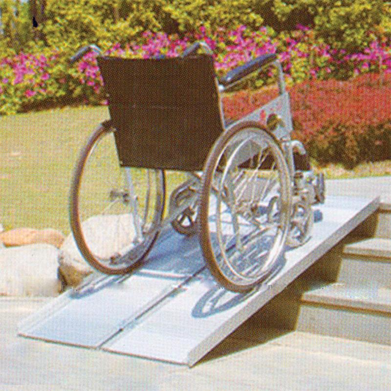 Пандус инвалидный складной 2-ух секционный MR 607