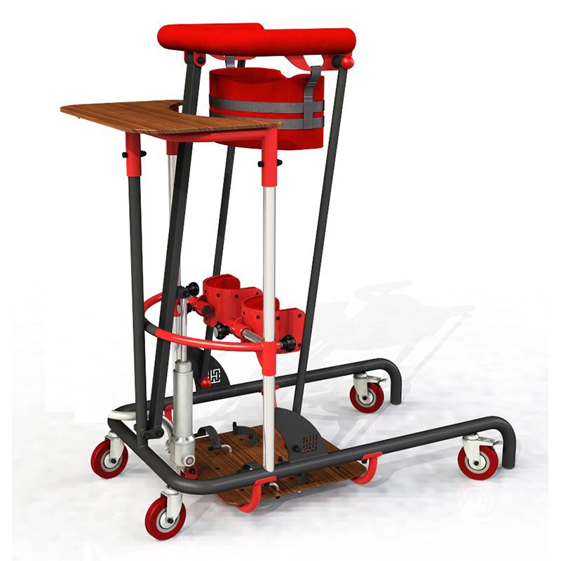 Вертикализатор с электроприводом с функцией подъема с пола или кресла