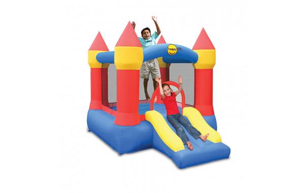 Детский надувной Батут с горкой «Мини крепость» HAPPY HOP 9221