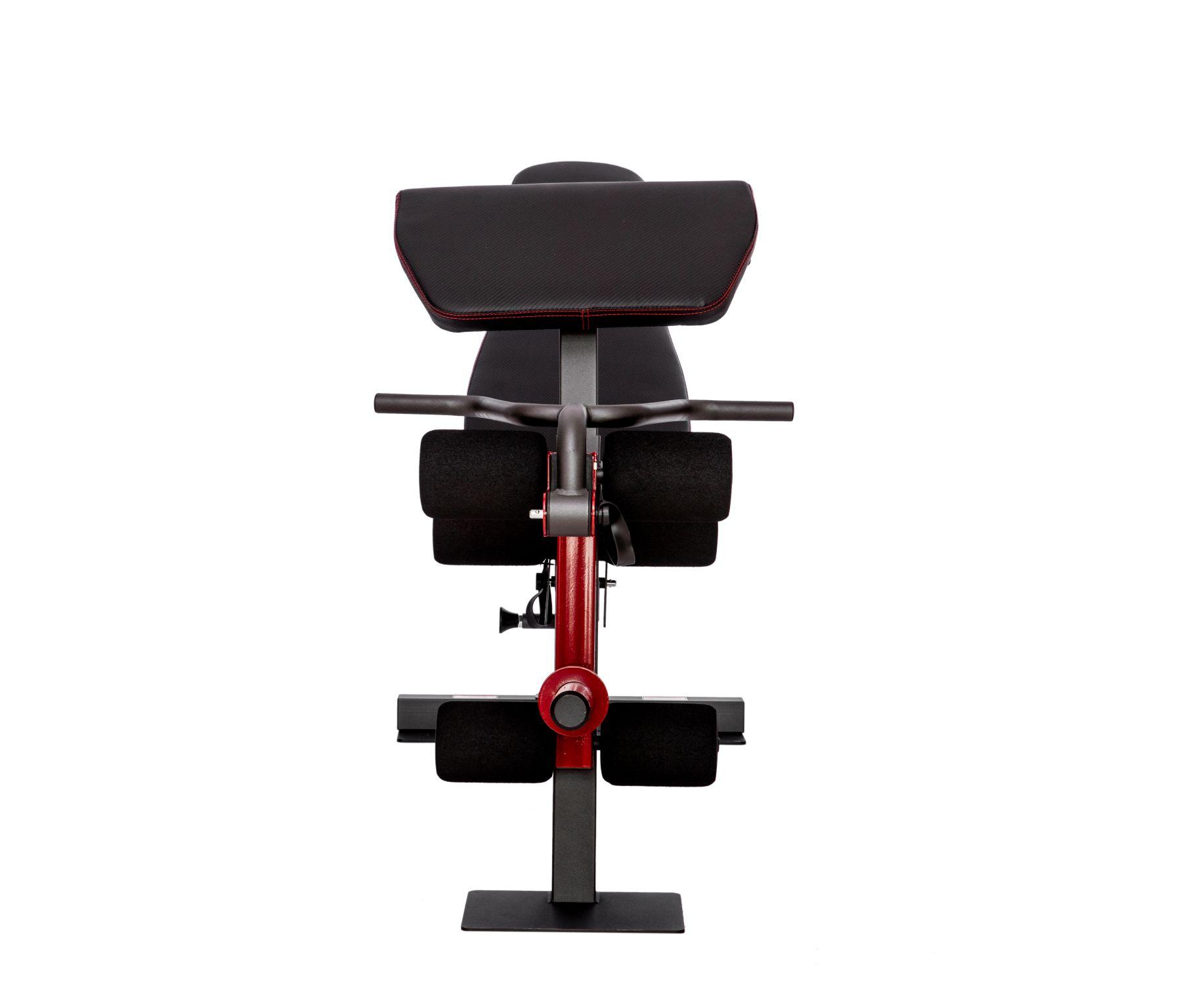 Силовой тренажер со скамьей и опциями DFC 8500 (D3023B+D3022SM)