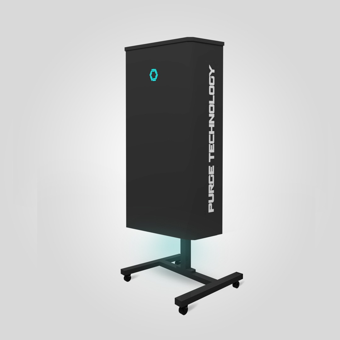 Рециркулятор Purge Technology 005 Турбо (Белый, Черный)