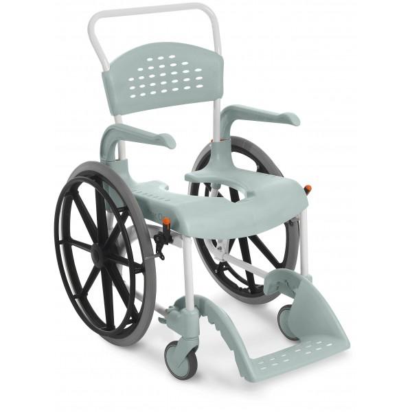 Кресло коляска с ручным приводом Etac Clean 24 для душа и туалета