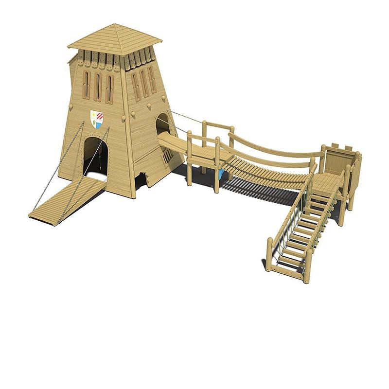 """Детский игровой комплекс """"Башня Рыцаря"""""""