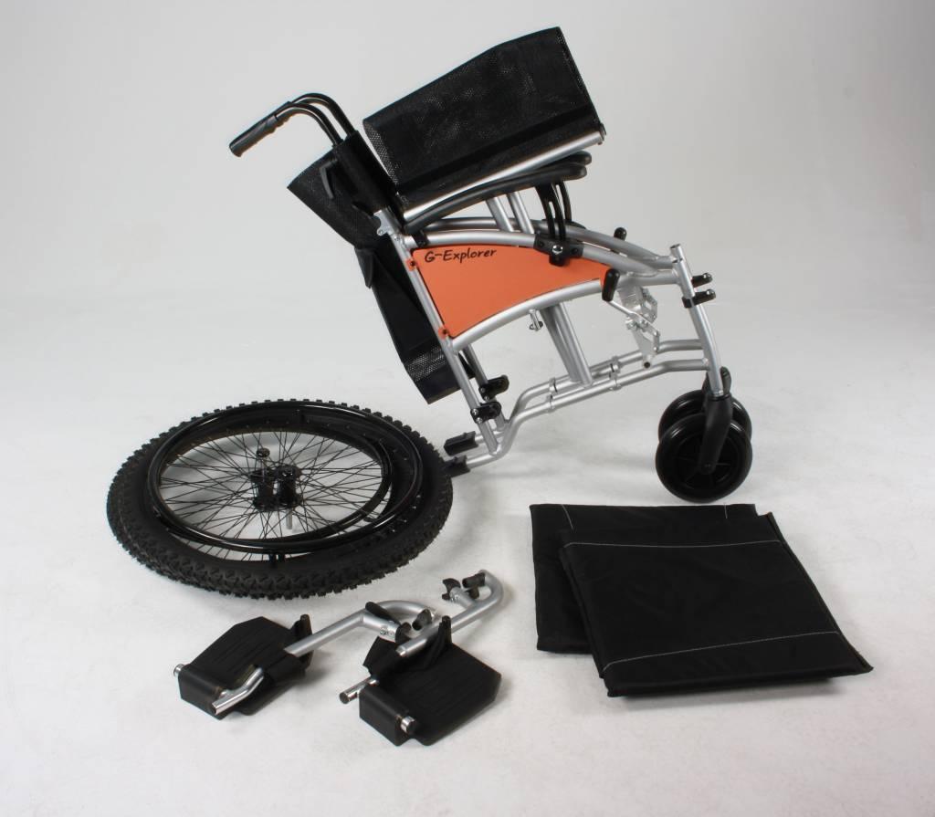 Кресло-коляска с широкими приводными колёсами Excel G-Lite Pro 24