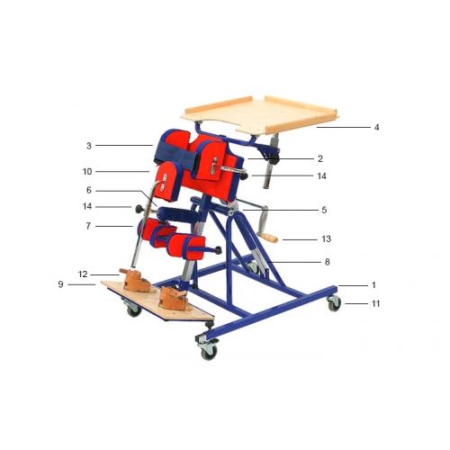 Вертикализатор для детей с ДЦП 207001 размер 1,2,3,4