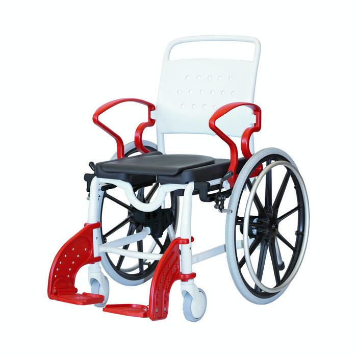 Туалетно-душевой стул Rebotec Генф для самостоятельного передвижения