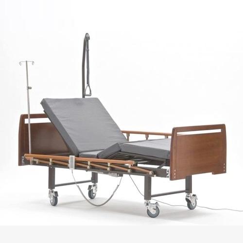 Кровать функциональная Е-8 деревянная с туалетным устройством (ММ-16)