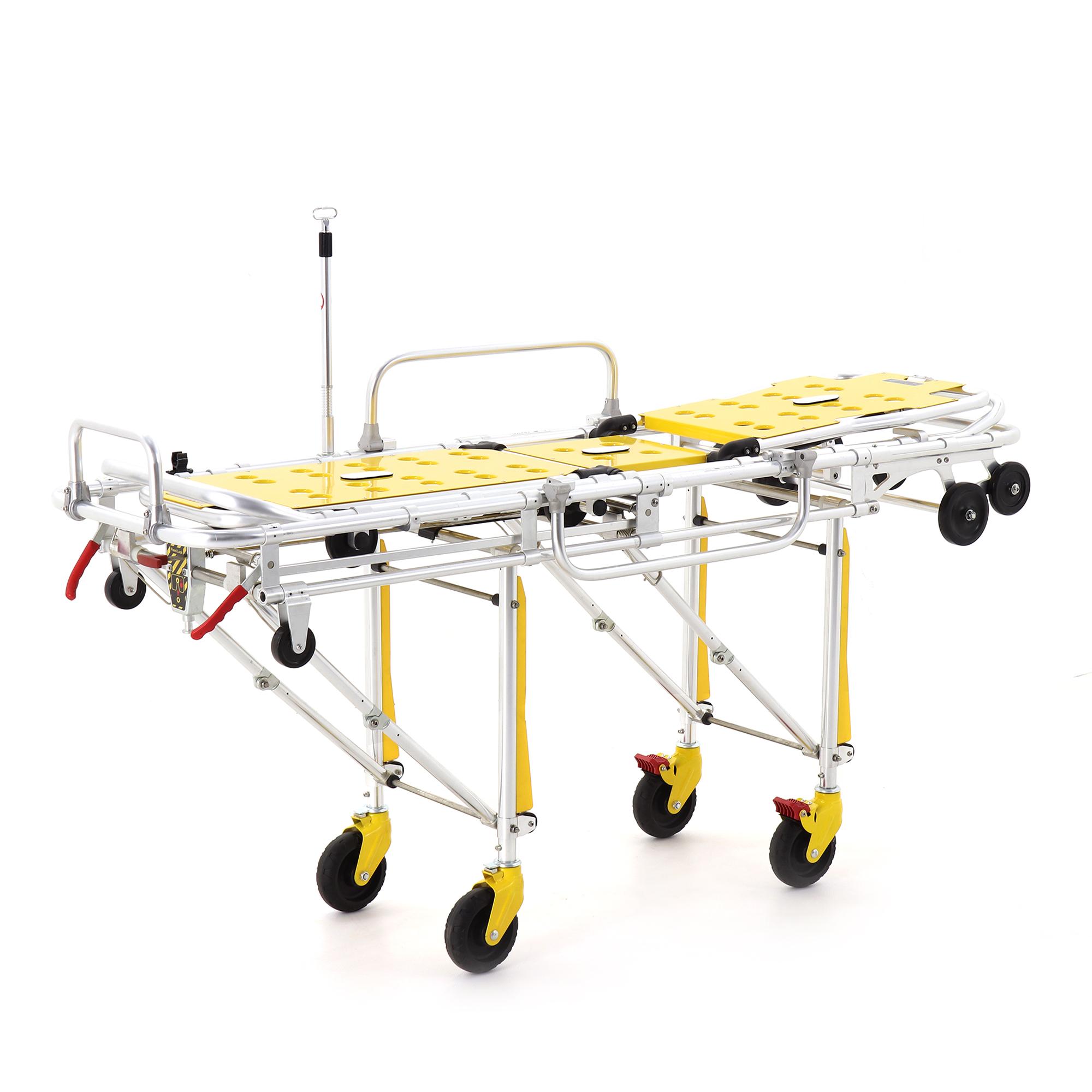 Каталка для автомобилей скорой медицинской помощи Med-Mos YDC-3A со съемными носилками