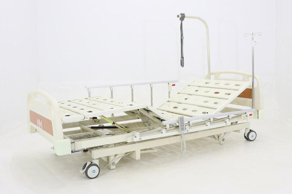 Кровать электрическая Med-Mos DB-6 (MЕ-3018Н-00) (3 функции) с выдвижным ложем