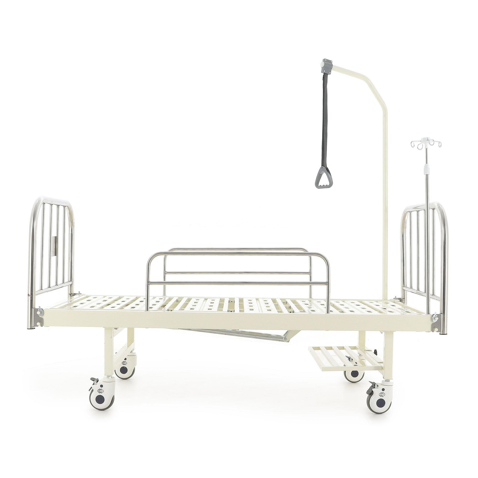 Медицинские кровати с механическим приводом Med-Mos F-8 (ММ-2004Д-00) 2 функции