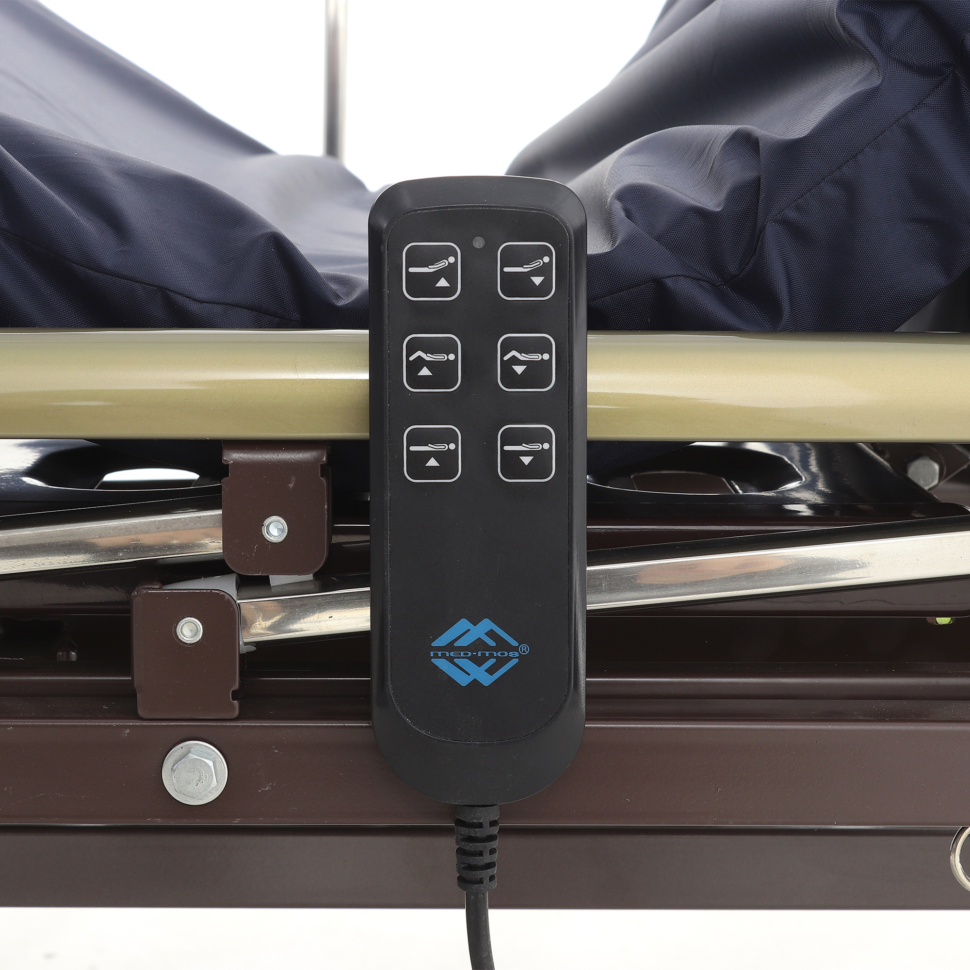 Кровать электрическая Med-Mos DB-6 (MЕ-3028Н-00) (3 функции) с ростоматом