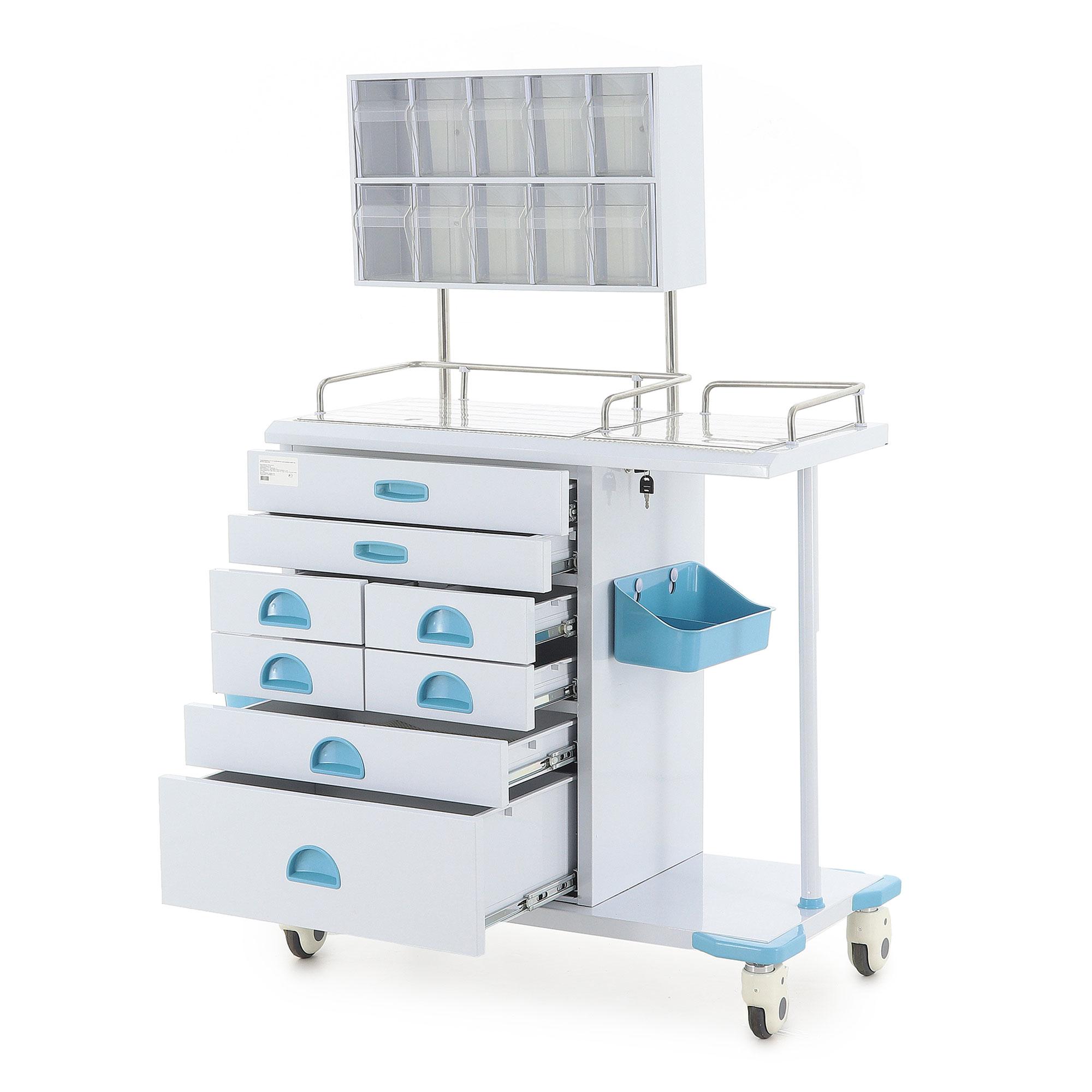 Столик реанимационный, анестезиологический Med-Mos AT003 (ТМ-011АН-00)
