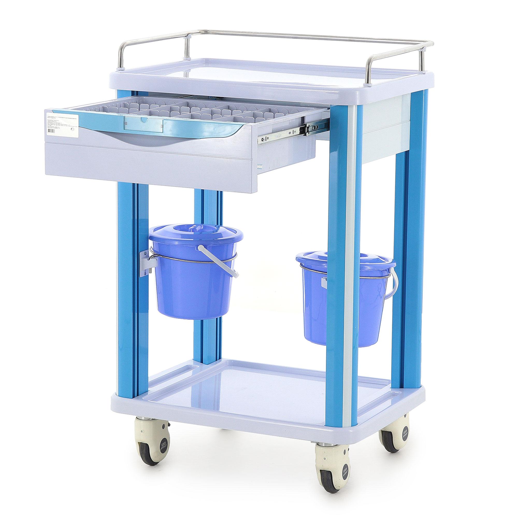 Столик реанимационный, анестезиологический Med-Mos CT005 (ТМ-005АН-00)