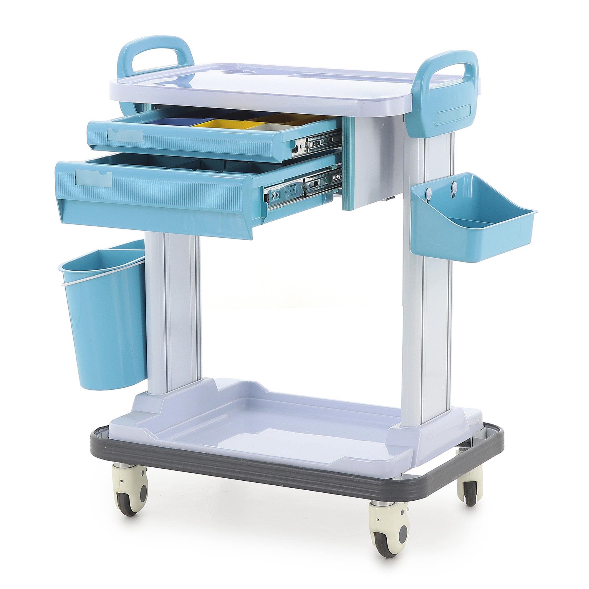 Столик реанимационный, анестезиологический Med-Mos СТ108 ТМ-016АН-00