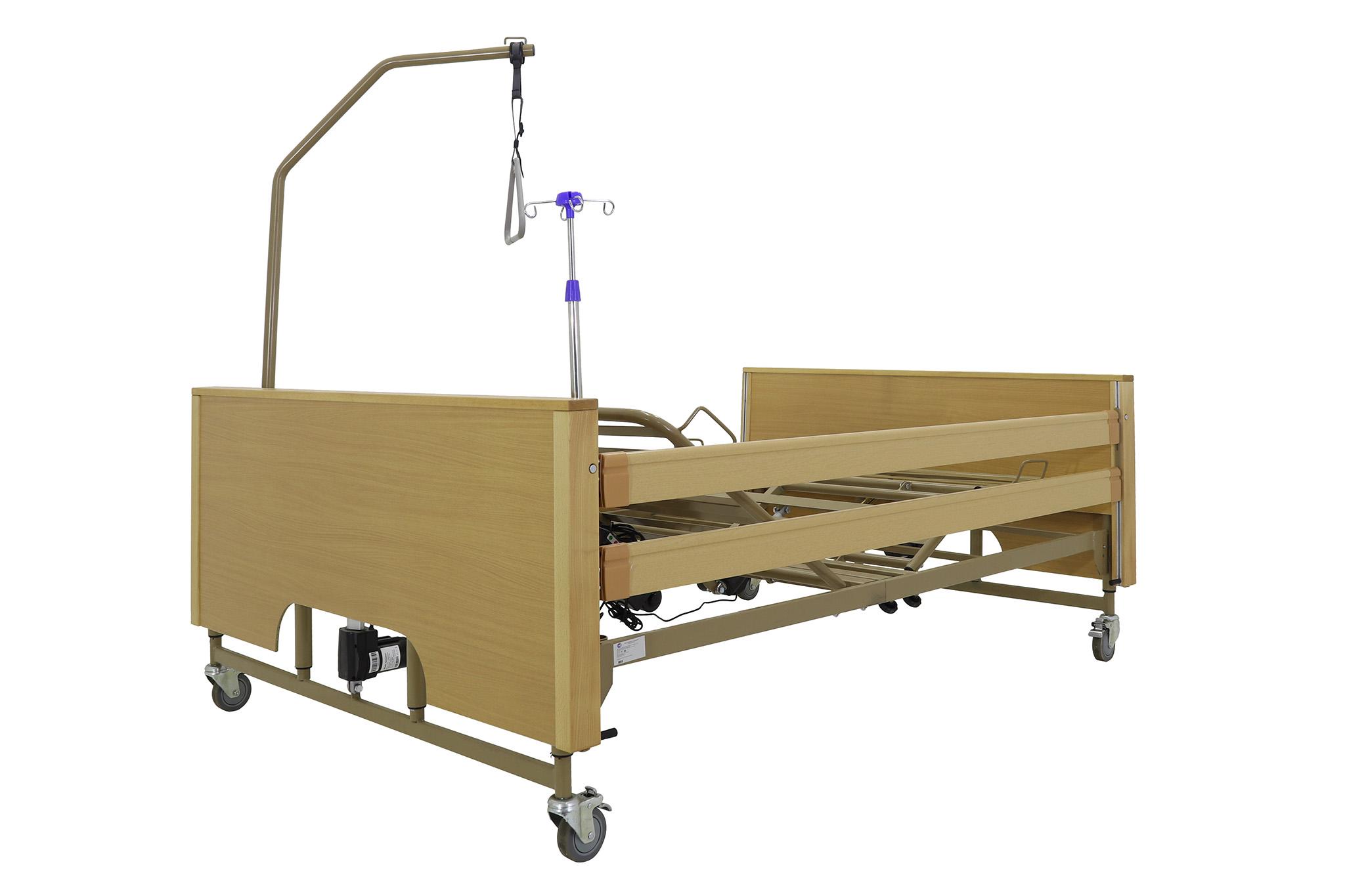 Кровать электрическая Med-Mos YG-1 (КЕ-4024М-23) ЛДСП (5 функций)