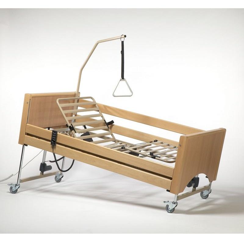 Кровать функциональная 4-х секционная электрическая Vermeiren LUNA с матрасом