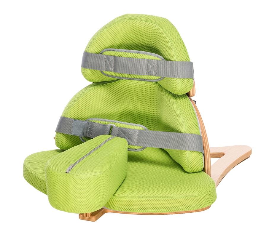 Угловое реабилитационное кресло дцп Слоненок Нук Akcesmed