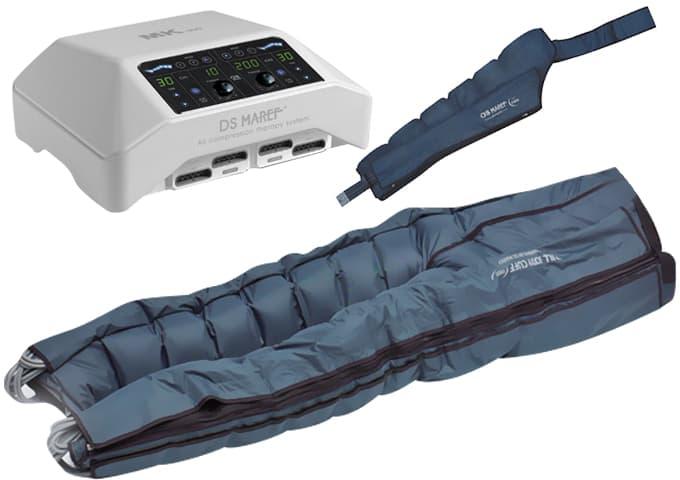 Аппарат для прессотерапии MK 300 + комбинезон + 2 манжеты для рук