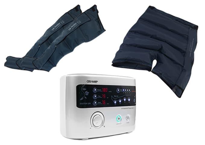Аппарат для прессотерапии Premium Medical LX9 (Lympha-sys9) + манжеты на ноги (XL) + шорты для похудения
