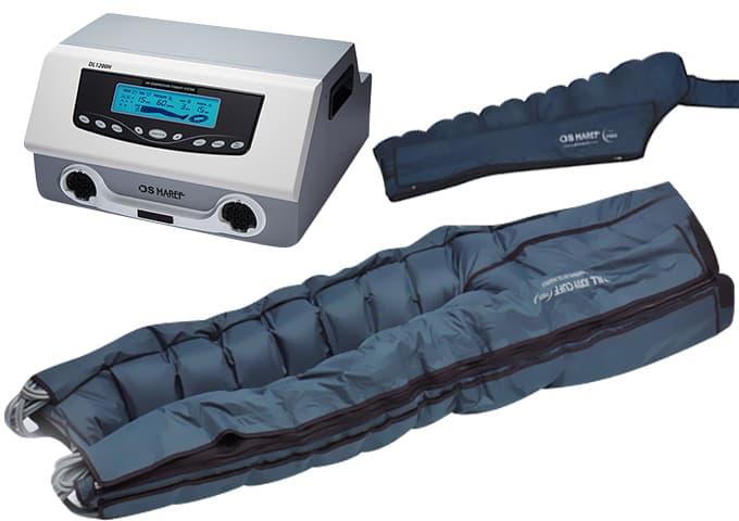 Аппарат для лимфодренажа Lympha-Tron (DL 1200 L) + комбинезон + манжета на руку