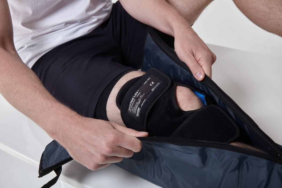 Криопрессотерапия для спортсменов аппарат LX7 + манжеты для ног + крио бандаж