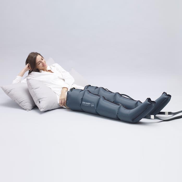 Аппарат для лимфодренажа Doctor Life LX7, манжеты на ноги XXL, шорты для похудения, соединители