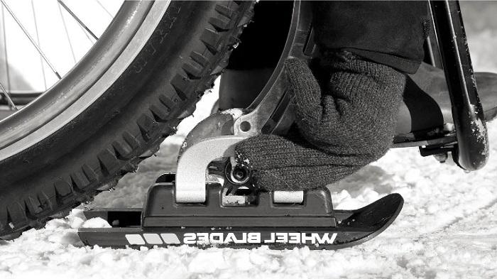 Лыжи Wheelblades S для инвалидной коляски