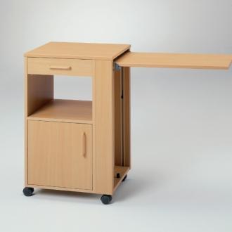 Медицинская тумбочка с прикроватным столиком Burmeier Nati41 (Hermann)