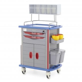 Столик реанимационный, анестезиологический Med-Mos AT750-01 (ТМ-003АН-00)